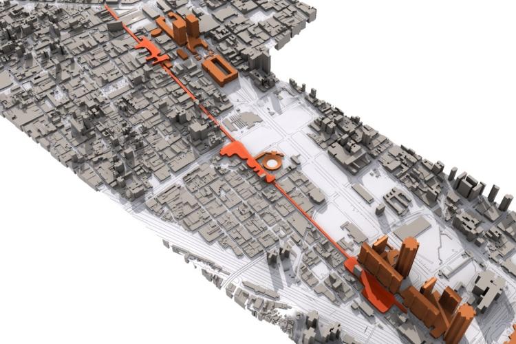 Avenida Lecuna Re-Urbanization