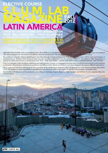 S.L.U.M. Lab Magazine
