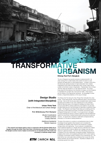 Transformative Urbanism