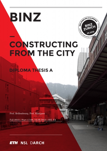 Binz – Constructing from the City