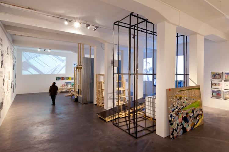 Empower Shack at Galerie Eva Presenhuber
