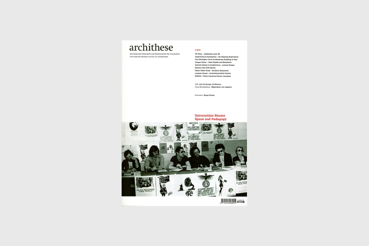 'Southern Exposures: Towards a Social Responsibility in Architecture and Architectural Education'