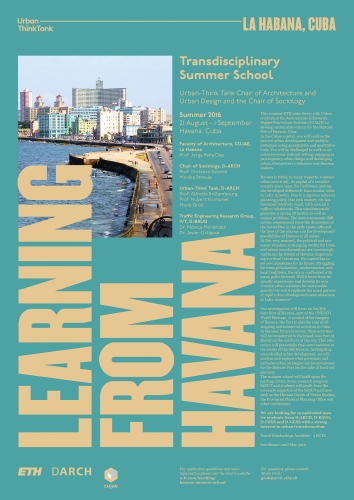 Learning from Havana Summer School