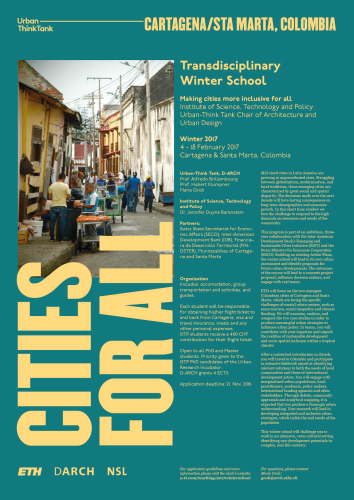 Winter School: Cities for All