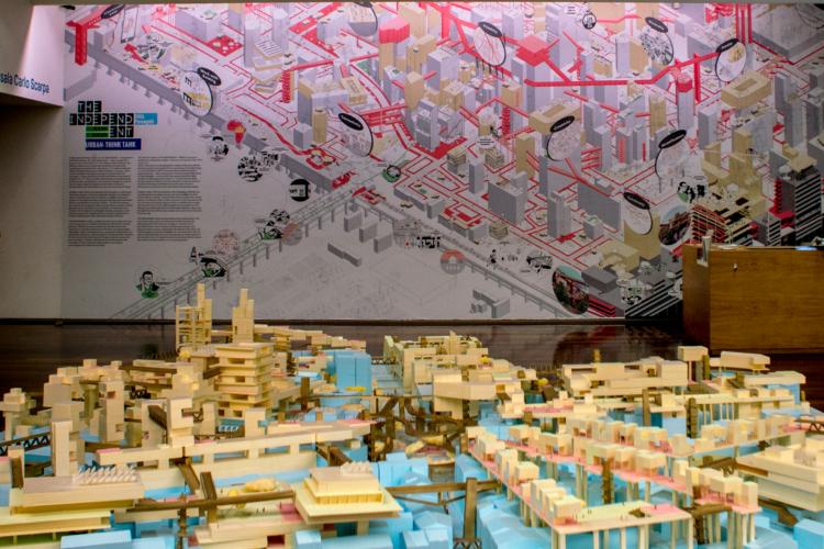 Città Parangolé at THE INDEPENDENT / MAXXI_Museo nazionale delle arti del XXI secolo, Roma